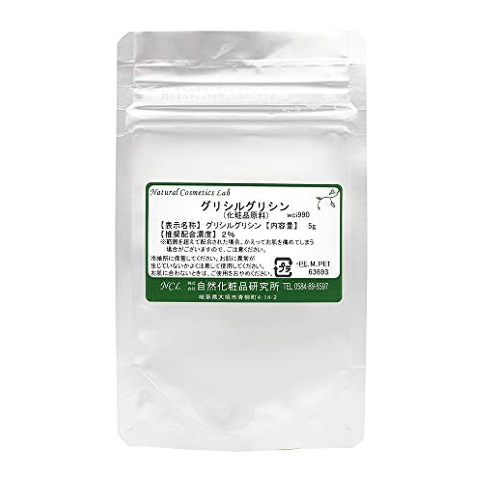 スナッププロフェッショナル埋めるグリシルグリシン (GG) 化粧品原料 5g