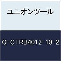ユニオンツール 超硬エンドミル テーパボール R0.6×刃長10×片角1°CCTRB4012102