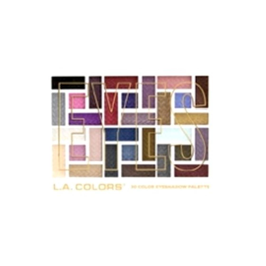 郵便屋さん取り出す登録L.A. COLORS 30 Color Eyeshadow Palette - Back To Basics (並行輸入品)