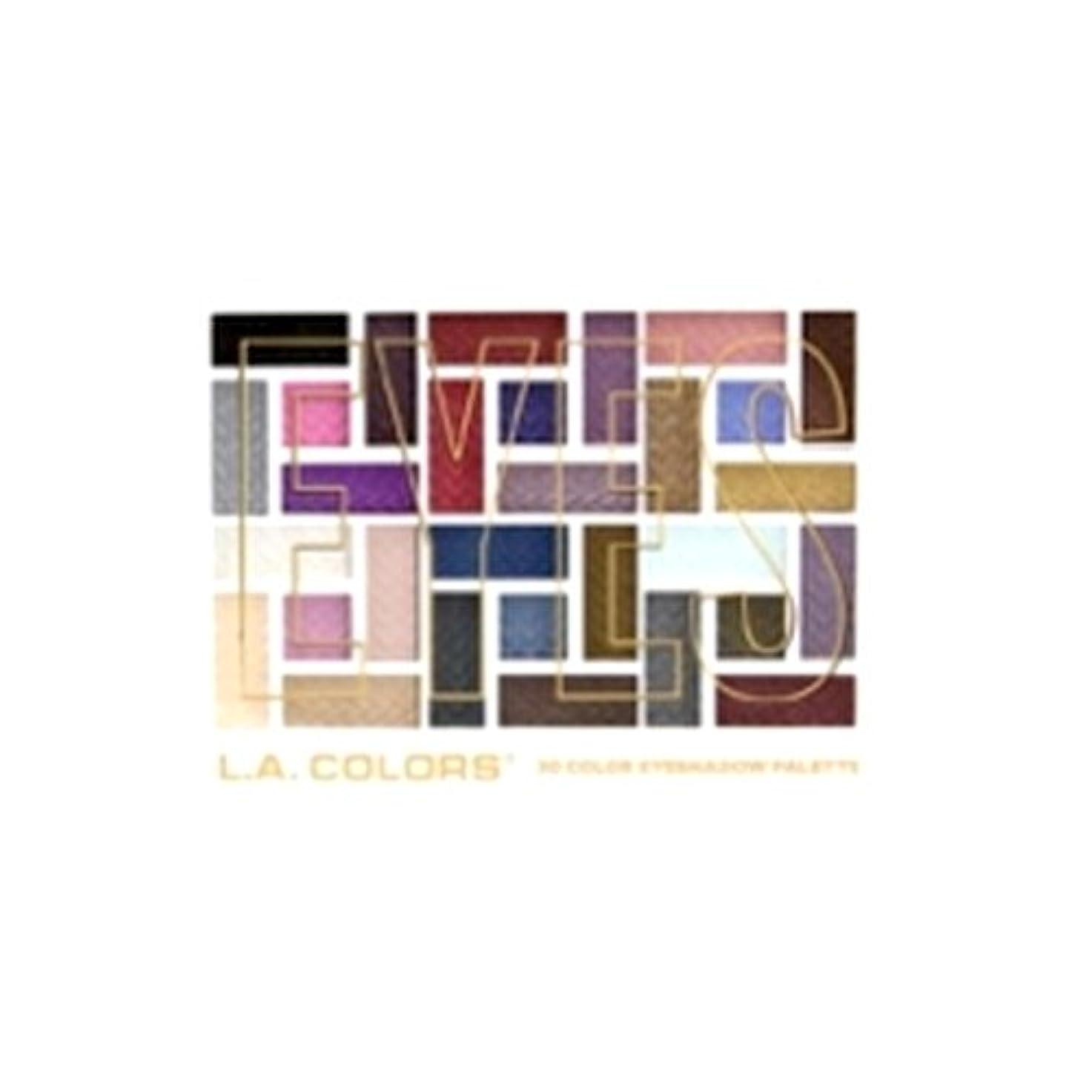 彼ポゴスティックジャンプカードL.A. COLORS 30 Color Eyeshadow Palette - Back To Basics (並行輸入品)