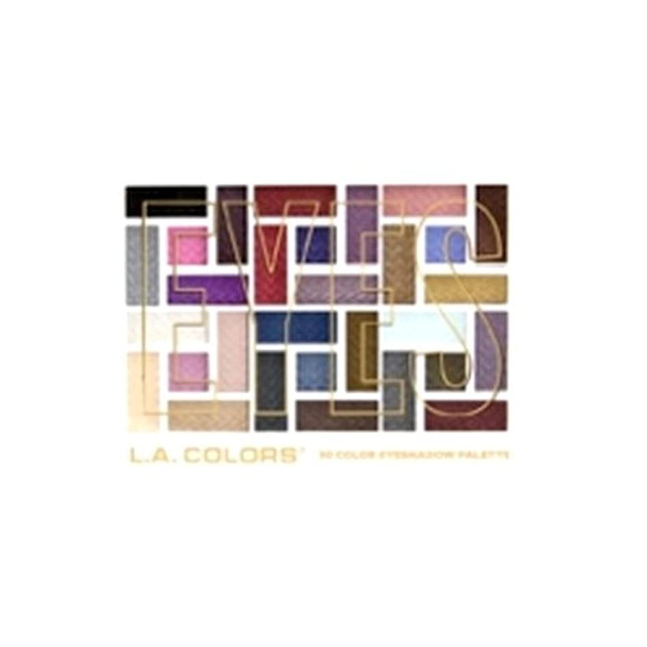中級チャレンジ瞑想L.A. COLORS 30 Color Eyeshadow Palette - Back To Basics (並行輸入品)