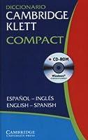 Diccionario Cambridge Klett Compact Español-Inglés/English-Spanish Paperback with CD ROM