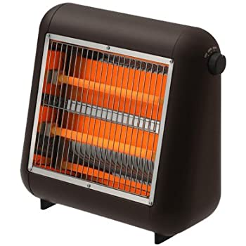 ±0 Infrared Electric Heater ブラウン