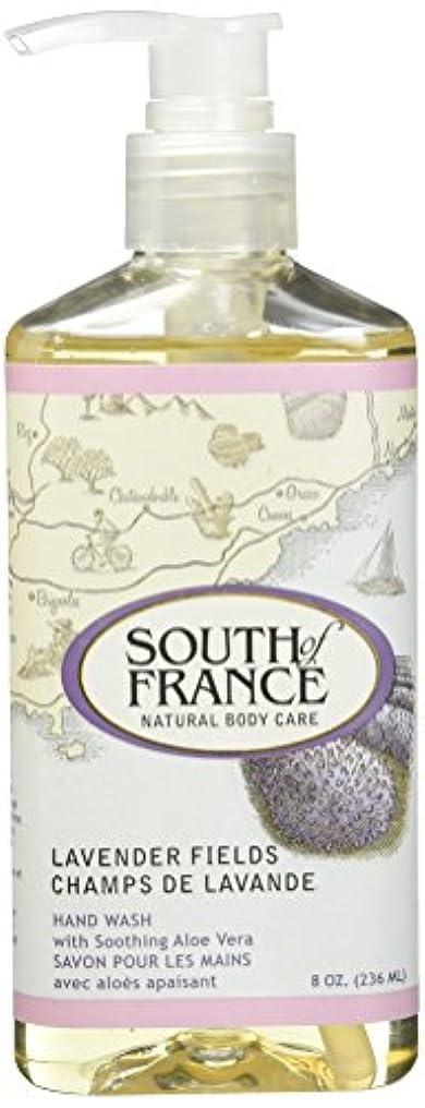 落ち着いて分析的結果SOUTH OF FRANCE HAND WASH LAVENDER FIELDS, 8 by SOF