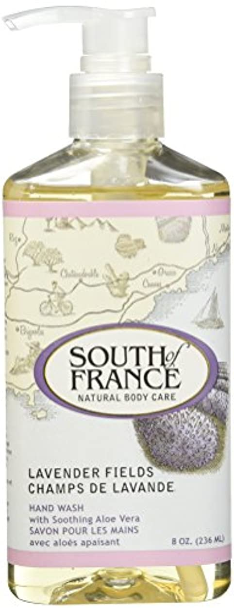 SOUTH OF FRANCE HAND WASH LAVENDER FIELDS, 8 by SOF