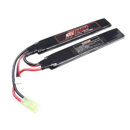 ET1 レッドライン LiPo 7.4V 1400mAh セパレート リポバッテリー ミニコネクター