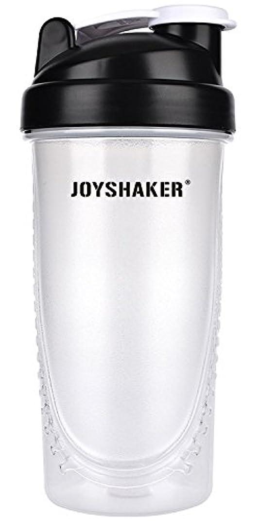 のど寛大な予報joyshaker Protein Shaker Bottlesスポーツに漏れ防止BPA GymsスポーツShaker Cup withミキサー28oz