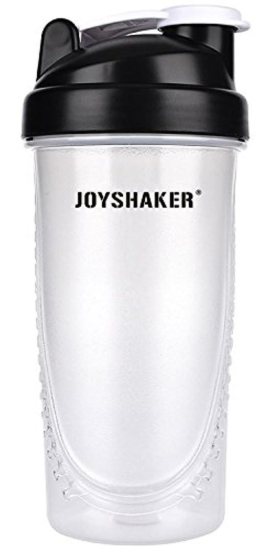 横パッド呼び起こすjoyshaker Protein Shaker Bottlesスポーツに漏れ防止BPA GymsスポーツShaker Cup withミキサー28oz