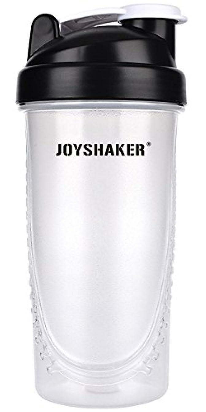 広々としたバレーボールスーパーjoyshaker Protein Shaker Bottlesスポーツに漏れ防止BPA GymsスポーツShaker Cup withミキサー28oz