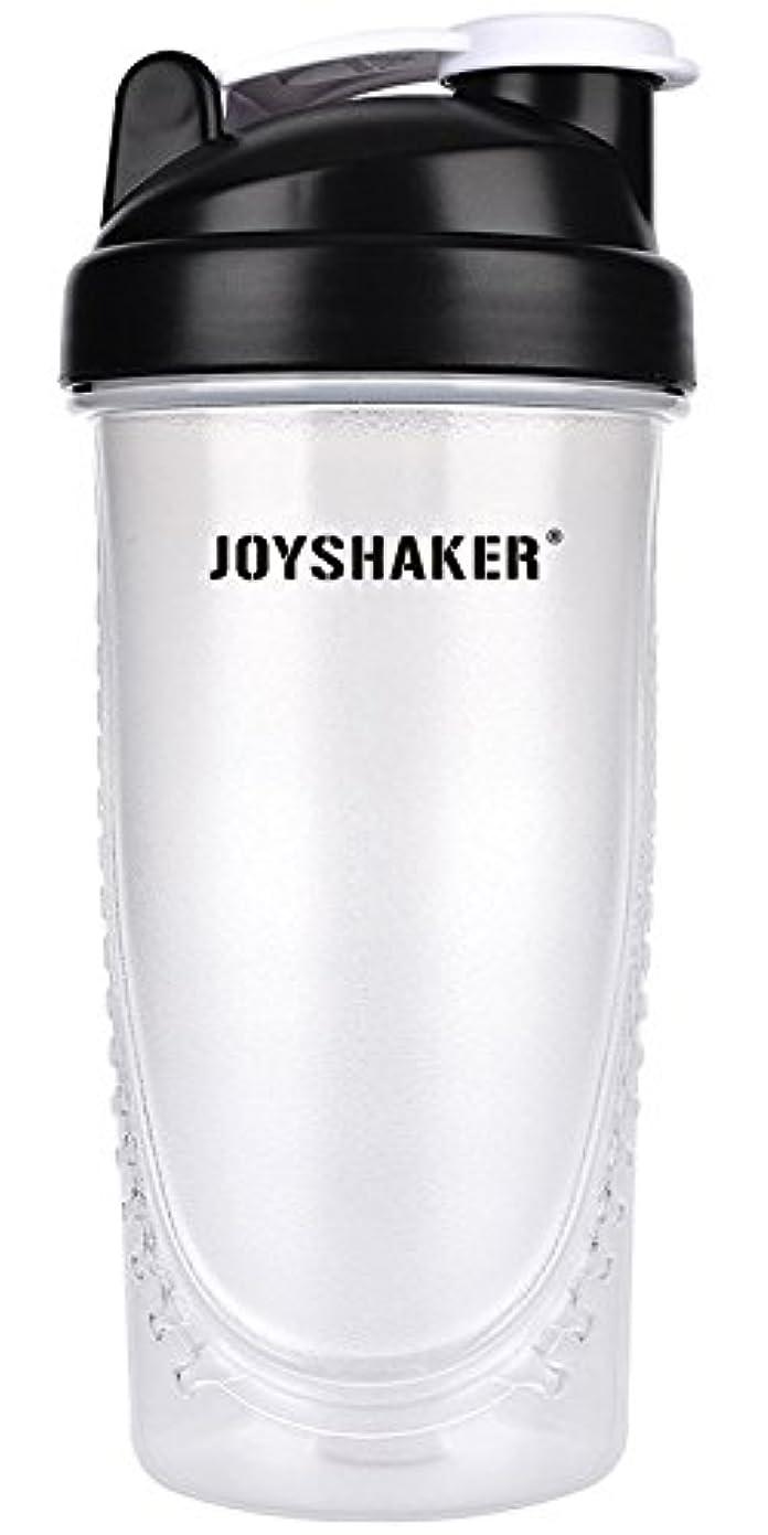 荒れ地下線体操選手joyshaker Protein Shaker Bottlesスポーツに漏れ防止BPA GymsスポーツShaker Cup withミキサー28oz