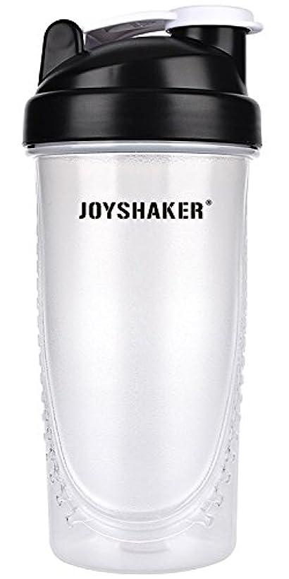 芸術収束するモードjoyshaker Protein Shaker Bottlesスポーツに漏れ防止BPA GymsスポーツShaker Cup withミキサー28oz
