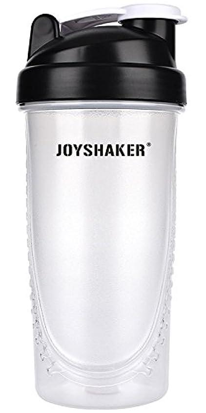 メアリアンジョーンズ特別な伸ばすjoyshaker Protein Shaker Bottlesスポーツに漏れ防止BPA GymsスポーツShaker Cup withミキサー28oz