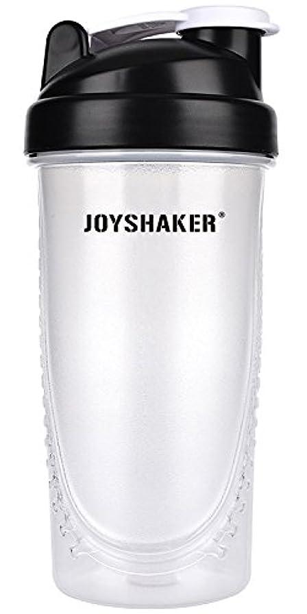 種勤勉な投資joyshaker Protein Shaker Bottlesスポーツに漏れ防止BPA GymsスポーツShaker Cup withミキサー28oz