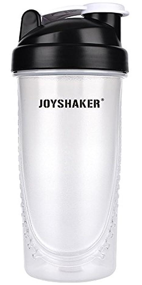 ハンディキャップ小さなリフトjoyshaker Protein Shaker Bottlesスポーツに漏れ防止BPA GymsスポーツShaker Cup withミキサー28oz