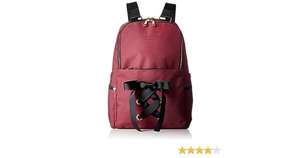 99aa43ad01a1 Amazon.co.jp: [ハニーサロンバイフォピッシュ] リュック 2wayレースアップリュック ボルドー: シューズ&バッグ