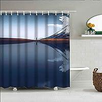 装飾のシャワー・カーテンの多彩な大胆な設計、生地の浴室の装飾セットフック180 * 200 cm、マルチ 471. ボリビア, grafixart_photo, 土地, 風景