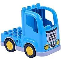 keland 子供用 知育玩具 カートゥーン 大粒子組み立てブロック 車ブロック M YNVM033329_6*
