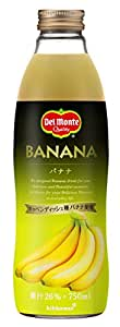 デルモンテ バナナ 26% 750ml×6本