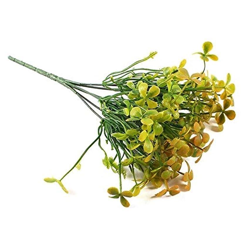 昇る苛性ええ人工観葉植物 植物低木クリエイティブ装飾的な人工植物シダシミュレーション工場プラスチックフラワーファーンウォール素材アクセサリー YXJJP (Color : 5, Size : One Size)