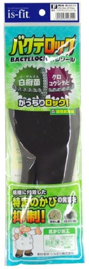 ポップ尊敬するタッチis-fit(イズフィット) バクテロックインソール 男性用 24.0~27.0cm