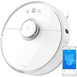 Xiaomi Roborock Mi Robot Vacuum 2nd Generation S5 Sweep-Mop Robotic Cleaner Wi-Fi Connected Laser Navigating Strong Suction For All Floor Types (White)