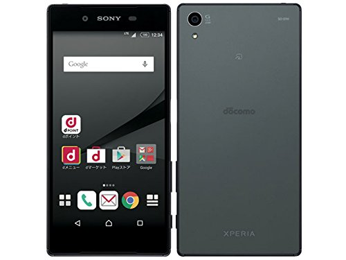 docmo Xperia Z5 SO-01H グラファイトブラック