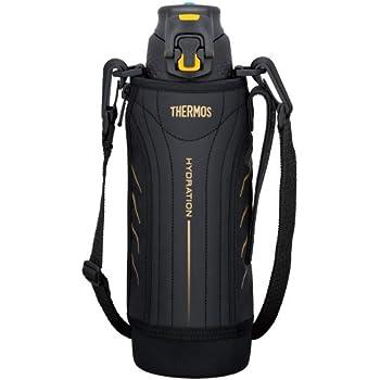 サーモス 真空断熱スポーツボトル 1.0L ブラック FFZ-1000F BK