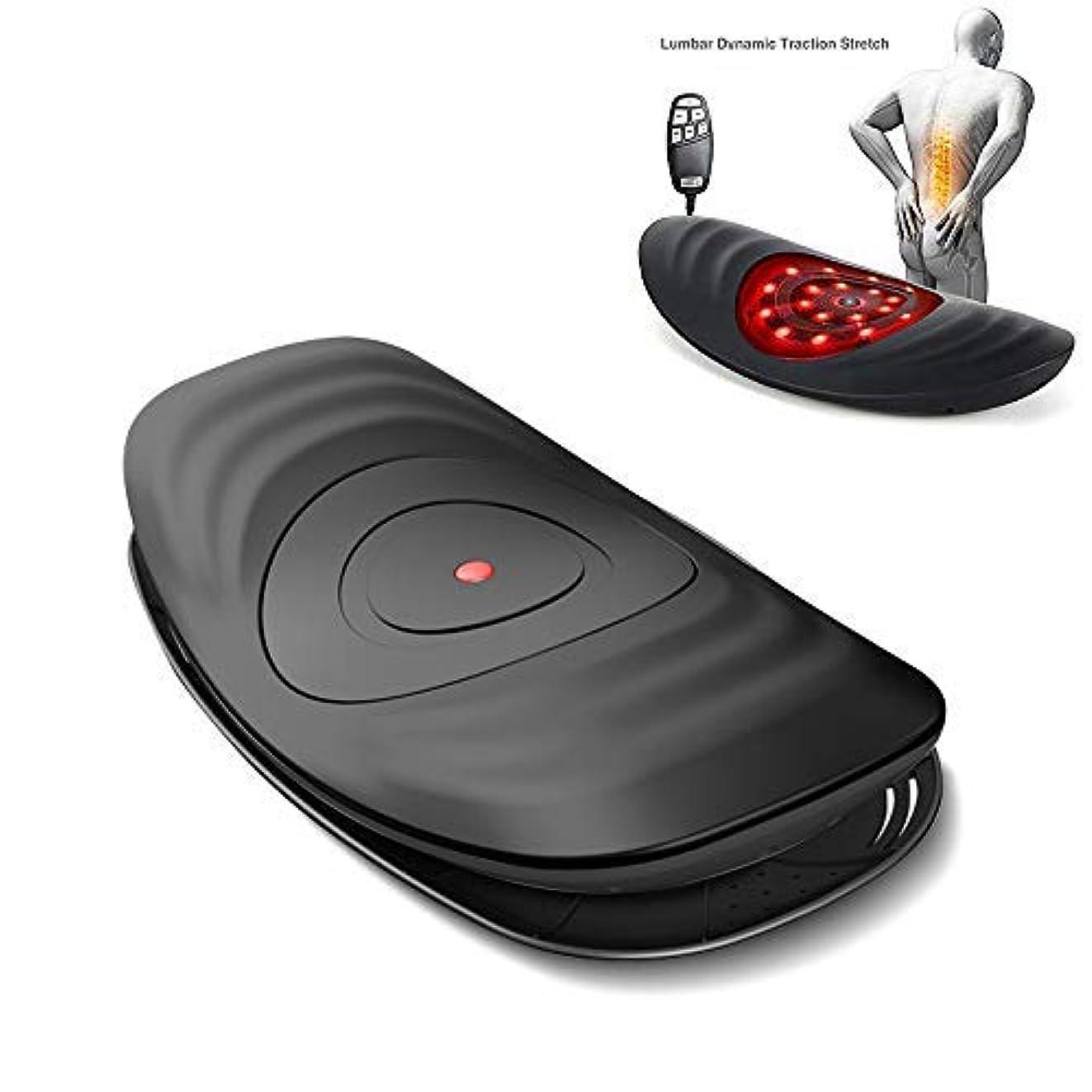 ボイド温度のために電動ウエストマッサージ、腰椎牽引装置バックヒーティング振動マッサージ枕空気圧縮腰椎サポートクッション
