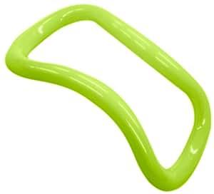 MAKISPORTS(マキスポーツ) 【正規品】ストレッチ用品 ウェーブストレッチリング プラスチック 定番色 男女兼用  グリーン