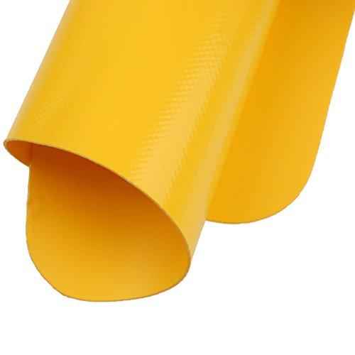 【ノーブランド 品】インフレータブル ボート ラフト カヌー カヤック 修理 パッチ 耐久性 全5色選べる - イエロー