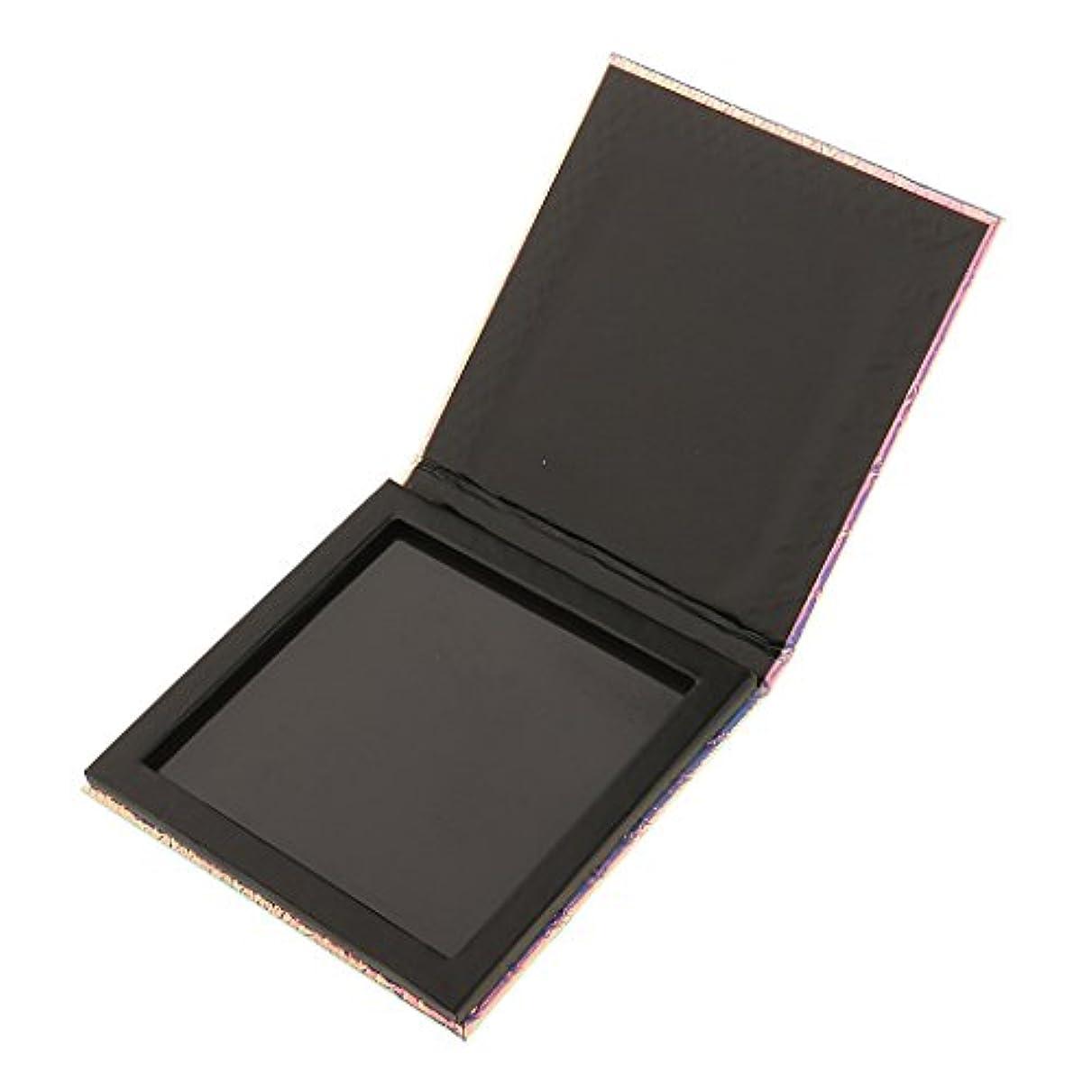 検出対噴火Perfk 磁気パレットボックス 空の磁気パレット メイクアップ コスメ 収納 ボックス 化粧品ケース 化粧品DIY 全2サイズ選べ - 10x10cm