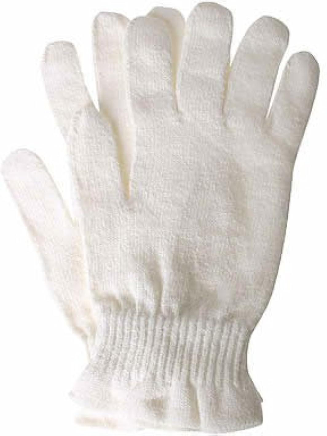 送った多様性リッチコクーンフィットシルク おやすみ手袋 オフホワイト