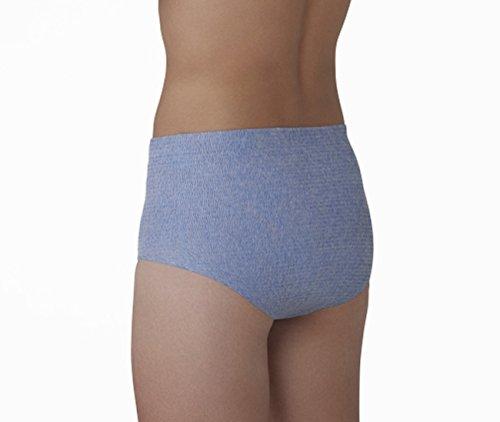 『HASO 紙から生まれた新素材機能性 パンツ+吸水パッド 男性用L~LLサイズ(パンツ5枚+パッド10枚)(ウエスト 75~120cm)』の8枚目の画像