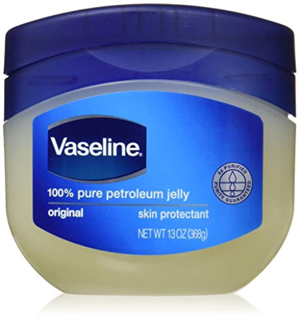 協同気分が悪い同一のヴァセリン 天然保湿スキンオイル 368 g X 2