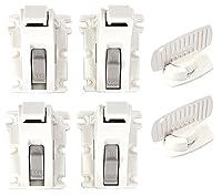 KidCo Magnet Lock Starter Set, 4 Locks, 2 Key by KidCo