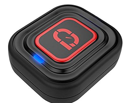 Qlipp QT2015BK001 Tennis Performance Sensor - Black, 3.0 x 2.8 x 1 cm [並行輸入品]