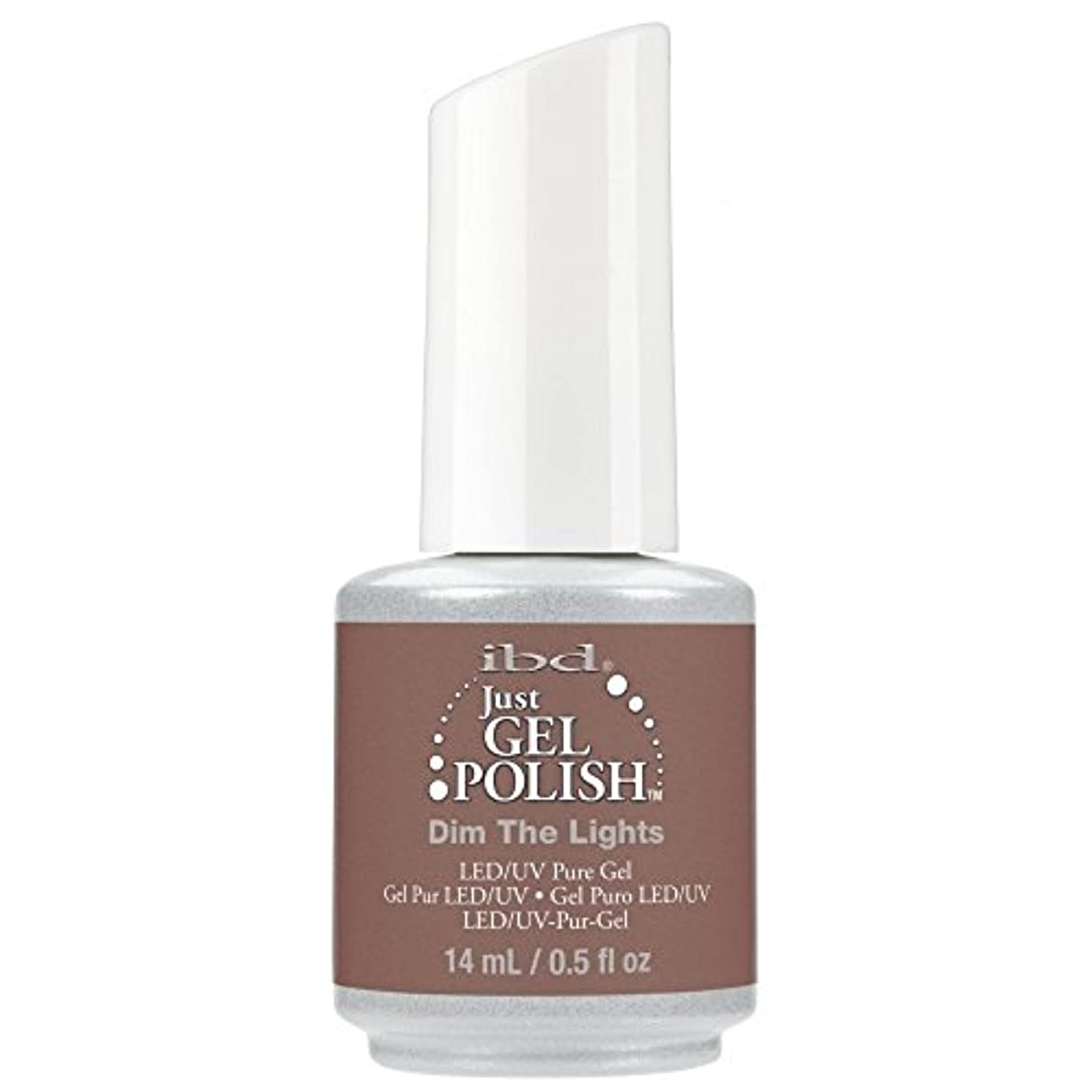 仕出しますチロ刃ibd Just Gel Nail Polish - 2017 Nude Collection - Dim the Lights - 14ml / 0.5oz