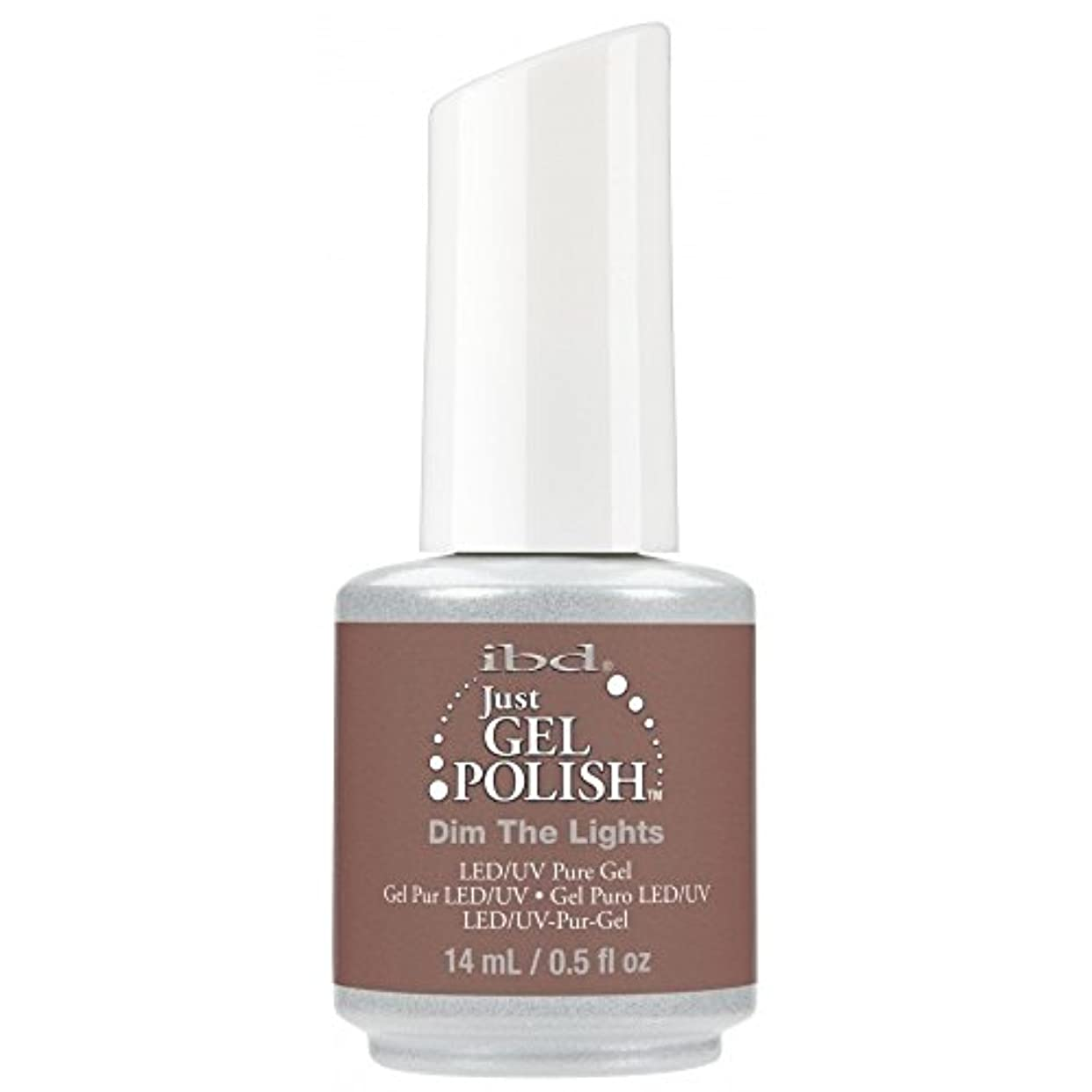 中毒フルーツ郵便局ibd Just Gel Nail Polish - 2017 Nude Collection - Dim the Lights - 14ml / 0.5oz