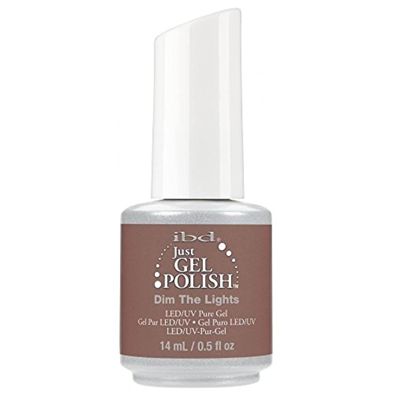 ギャングスター講義思想ibd Just Gel Nail Polish - 2017 Nude Collection - Dim the Lights - 14ml / 0.5oz