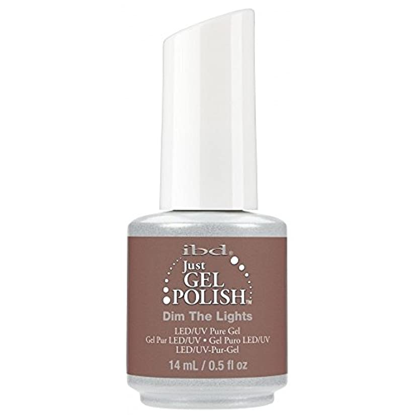 エレガントオーバーコート冷淡なibd Just Gel Nail Polish - 2017 Nude Collection - Dim the Lights - 14ml / 0.5oz