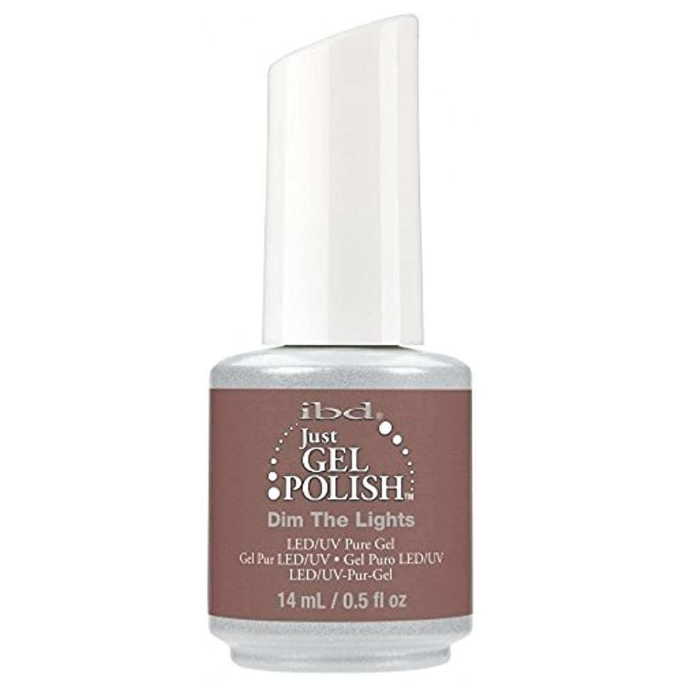 無秩序政府ホテルibd Just Gel Nail Polish - 2017 Nude Collection - Dim the Lights - 14ml / 0.5oz