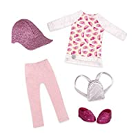Glitter Girls Deluxe Leggings & Top Outfit [並行輸入品]