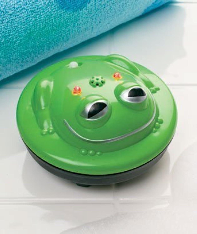 Light-up Frog Spinning Bath Fountain by Kimougha