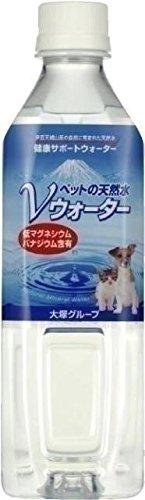 アース・ペット ペットの天然水 Vウォーター 500ml×24本 【ケース販売】