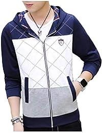[ Smaids x Smile (スマイズ スマイル) ] パーカー 長袖 ジップアップ 柄 プリント ジャケット カジュアル メンズ