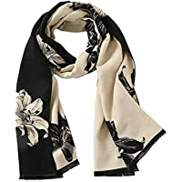 Blanket Scarf, Winter Pashmina Shawls & Wraps Cashmere Feel Winter Scarves For Men & Women
