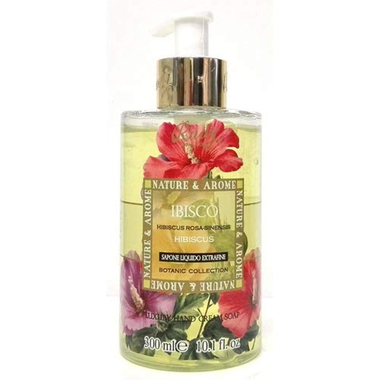 病な無秩序チームRUDY Nature&Arome SERIES ルディ ナチュール&アロマ Liquid Soap リキッドソープ ハイビスカス