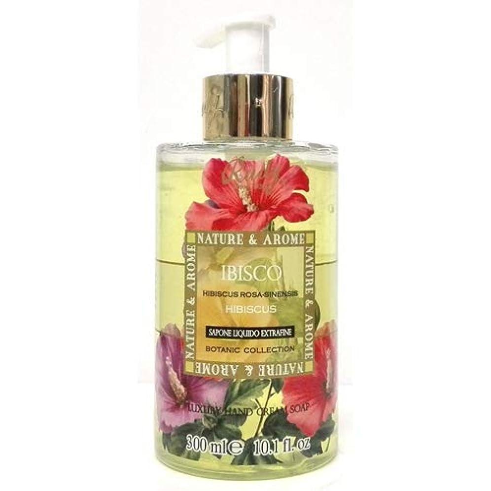 医師誠実抽象RUDY Nature&Arome SERIES ルディ ナチュール&アロマ Liquid Soap リキッドソープ ハイビスカス