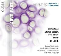 Te Deum / Nunc Dimittis / Fratres / Wallfahrtslied by Part (2013-01-08)