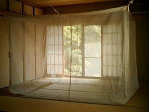菊屋の蚊帳:麻100%(4畳半用) 220×250cm
